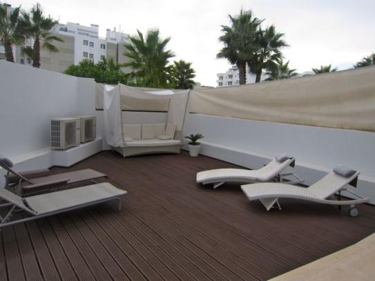 Begane grond duplex in Ibiza centrum te koop