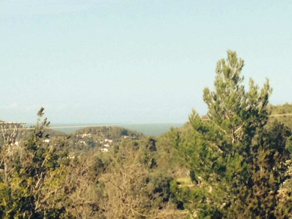 Zeer grote plot in San Jose met uitzicht op de baai van San Antonio