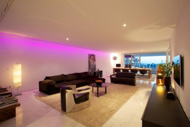 Prachtige luxe drie slaapkamer appartement te koop in Es Pouet