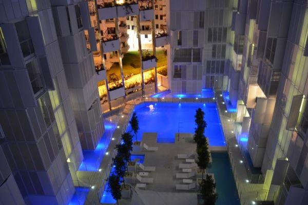 Luxe appartementen met twee slaapkamers te koop in het centrum van Ibiza