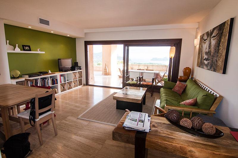 Dit mooie 2 slaapkamer appartement te koop in San José