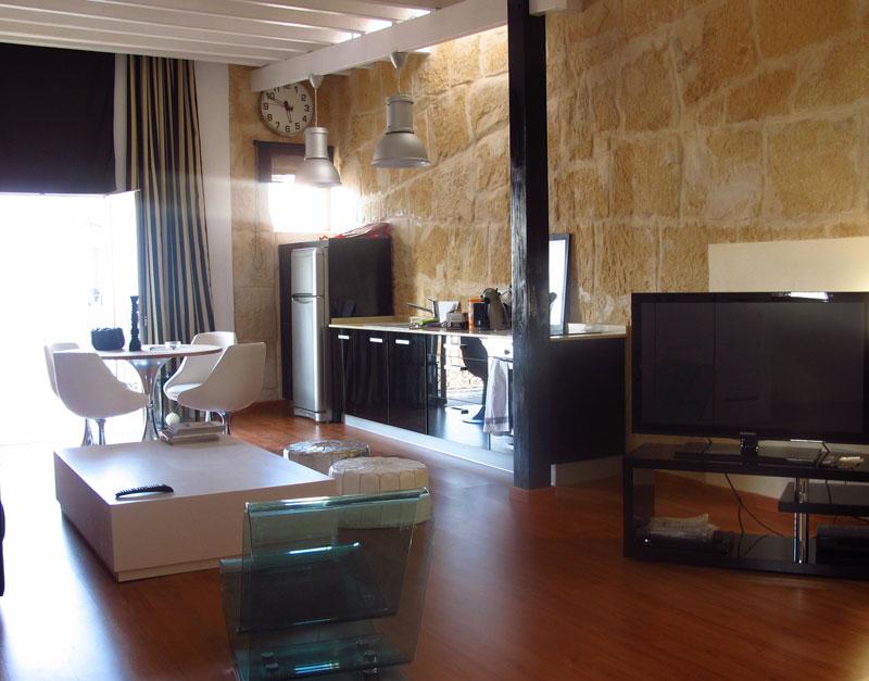 Loft met een slaapkamer in de oude stad van Ibiza te koop