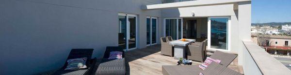 Zeer luxe appartementen in het centrum van Ibiza te koop