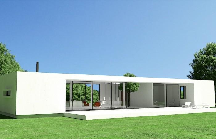 Modern prefab huizen te koop in Ibiza