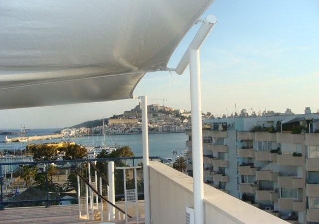 Appartement met een mooie slaapkamer te koop in Marina Botafoch