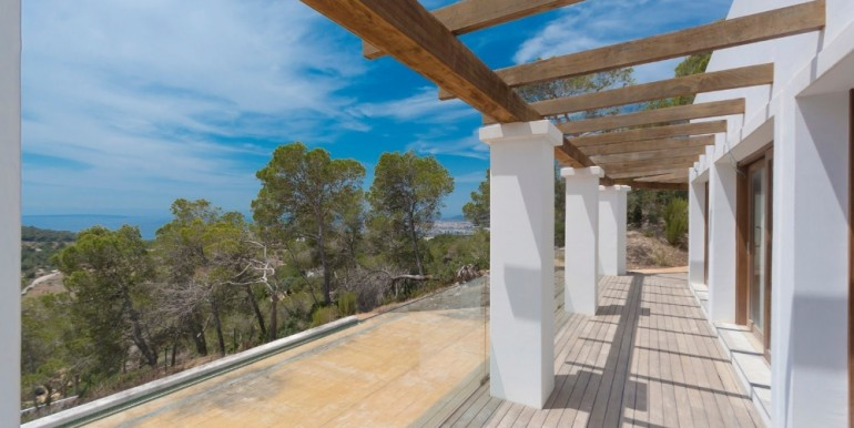 Villa in gewilde locatie met uitzicht op zee en het platteland - S'Estanyol