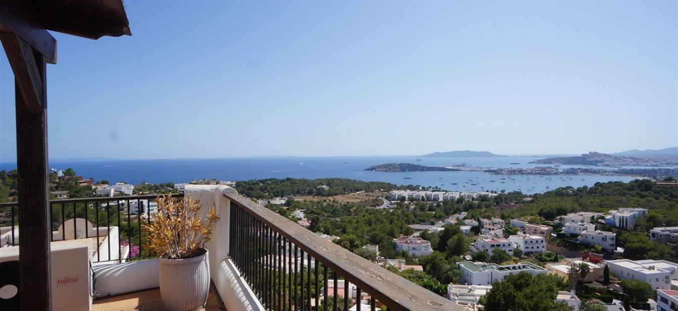 Ruime woning in een gewilde omgeving met een fantastisch uitzicht