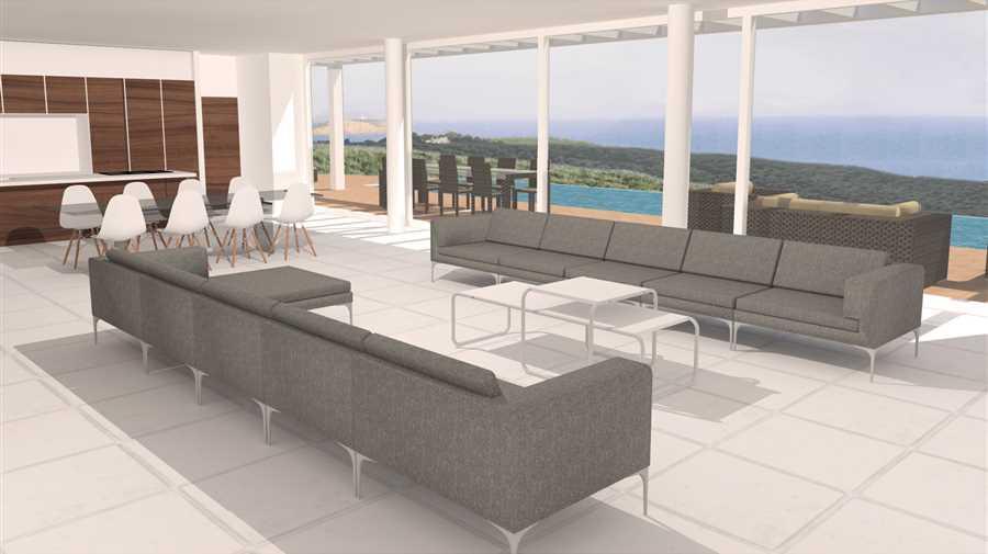 Land met project met uitzicht op zee en uitzicht op zee te koop