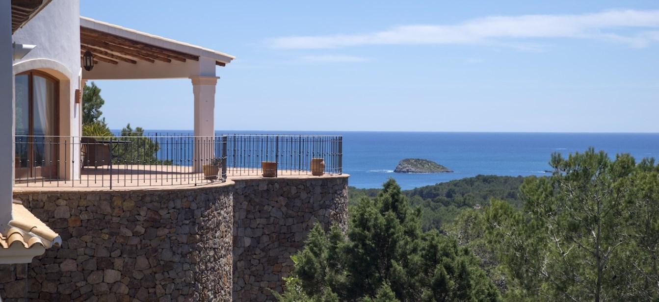Grote luxe landgoed met uitzicht in San Carlos
