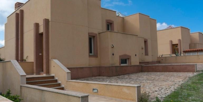 Met uitzicht op zee te renoveren vier vrijstaande in Ibiza