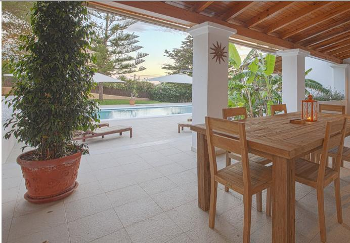 Prachtige villa met toeristische licentie in Jesus Ibiza