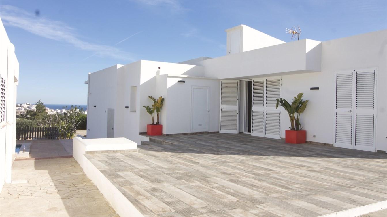 Huis met een panoramisch uitzicht van Jezus Talamanca Dalt Vila en Formentera