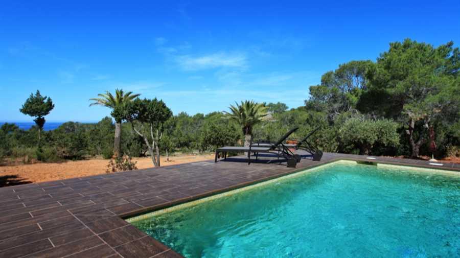 Villa met uitzicht op zee Cala Tarida