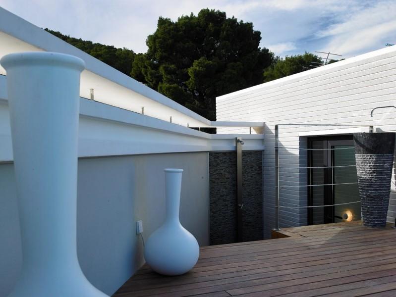 House Ibiza - Santa Eulalia met uitzicht op de zee en de zonsondergang