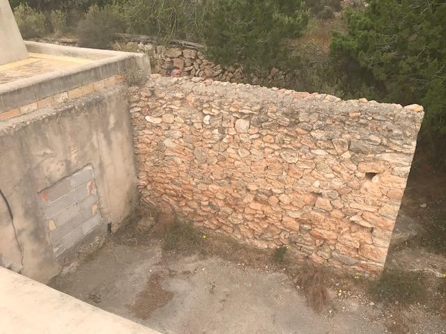 Finca te koop in San Rafael Ibiza voor hervorming