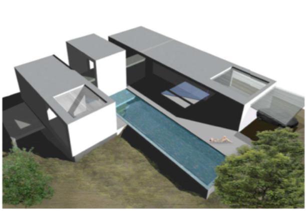 Perceel met project in Roca Lisa met mooi uitzicht op zee