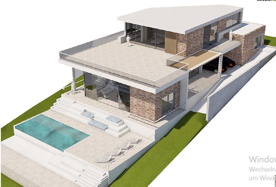 Project met licentie in Vista Alegra met een prachtig uitzicht op zee