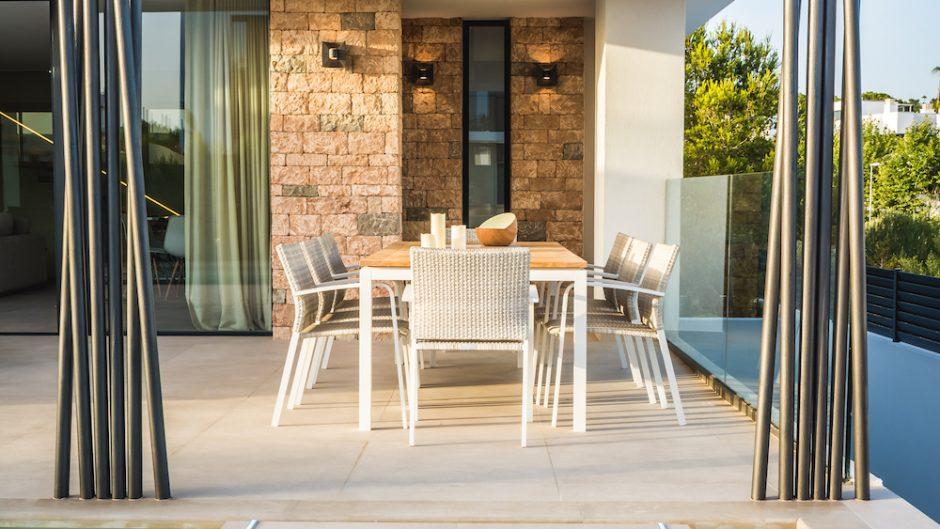 Mooie nieuw gebouwde villa in het exclusieve gebied van Ses Torres