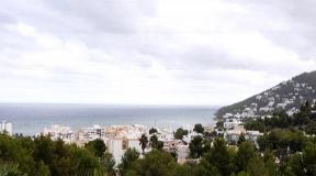 Villa in een rustige wijk van Santa Eulalia met 360º uitzicht op de zee
