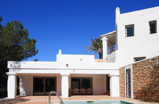 Rustieke villa met een fantastisch uitzicht in Ibiza