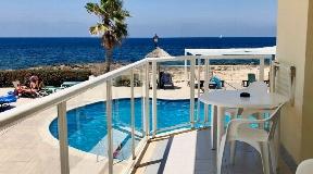 Prachtige appartementen in Cala de Bou eerste lijn naar de zee