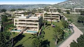 Luxe appartementen in Cap Martinet met een mooi uitzicht
