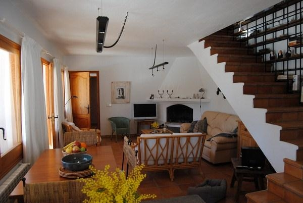 Villa in traditionele stijl in Cala Salada met een fantastisch uitzicht op zee