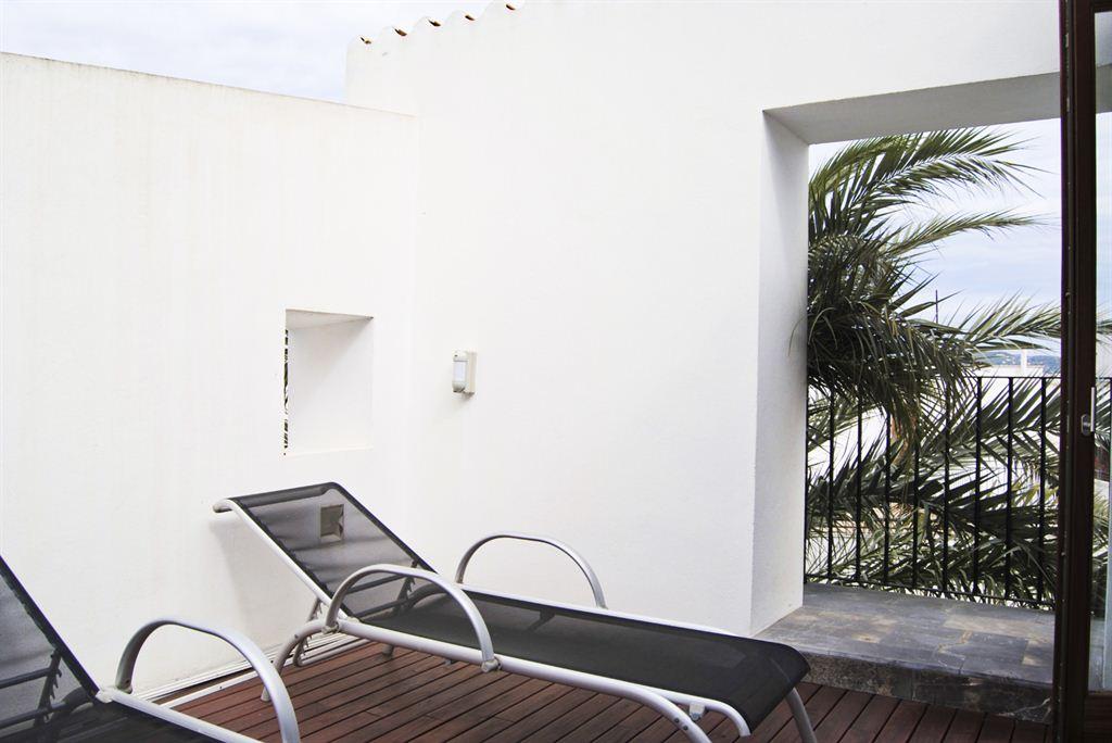 Dit is een mooi appartement op de top van het kasteel van Ibiza
