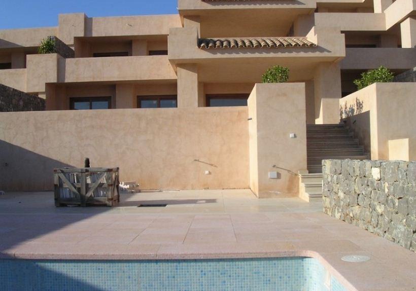 Huis gelegen in de residentie 'Vista Vedra' in Cala Carbo met een fantastisch uitzicht