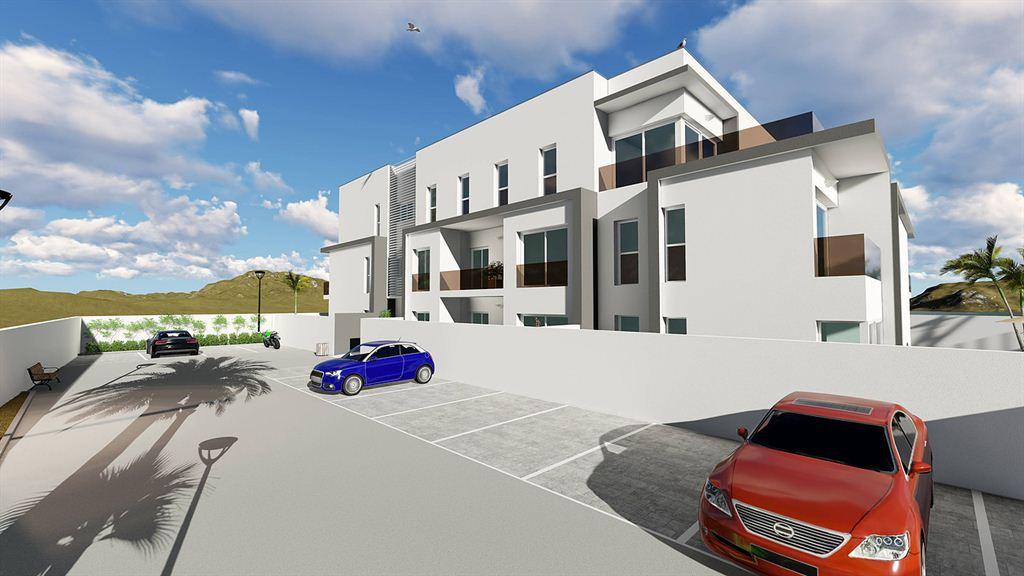 Nieuw gebouwd gelijkvloers appartement in Jezus te koop
