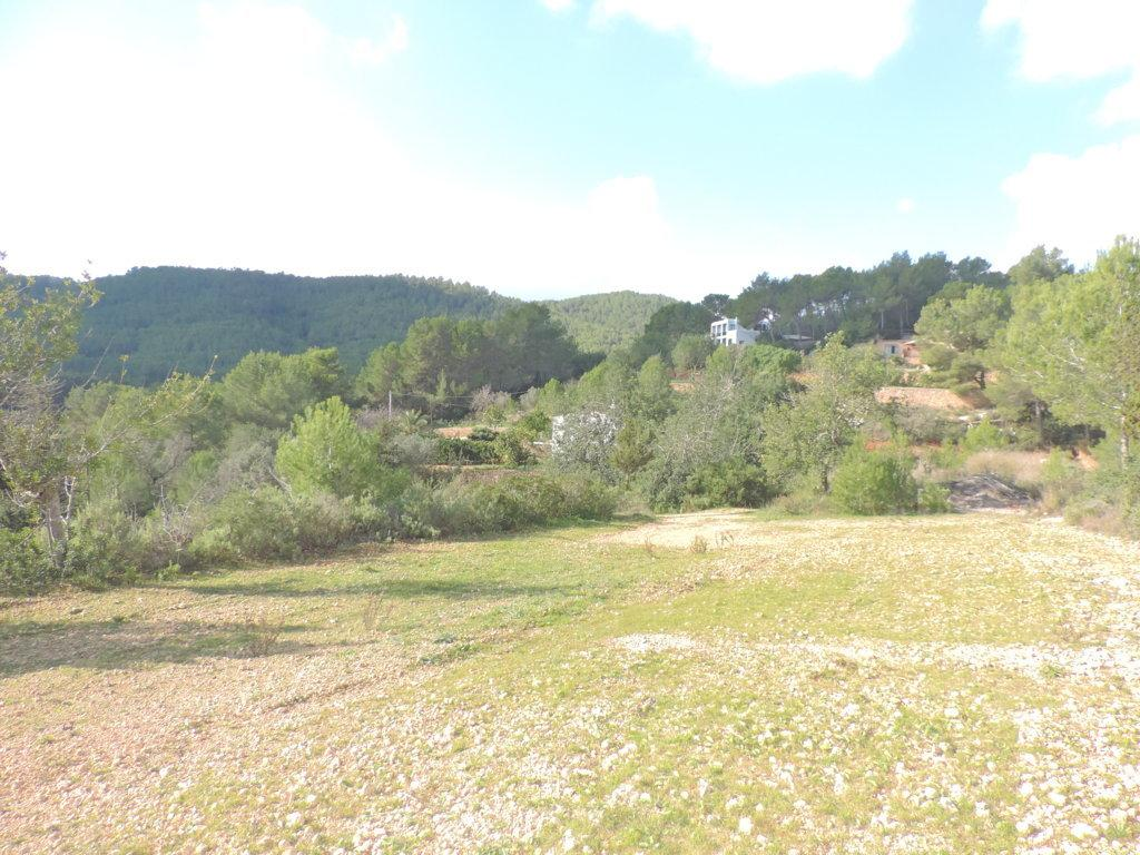 Landelijke finca op een groot stuk grond met verschillende fruitbomen uitzicht op zee en de mogelijkheid om uit te breiden in de buurt van Santa Eulalia