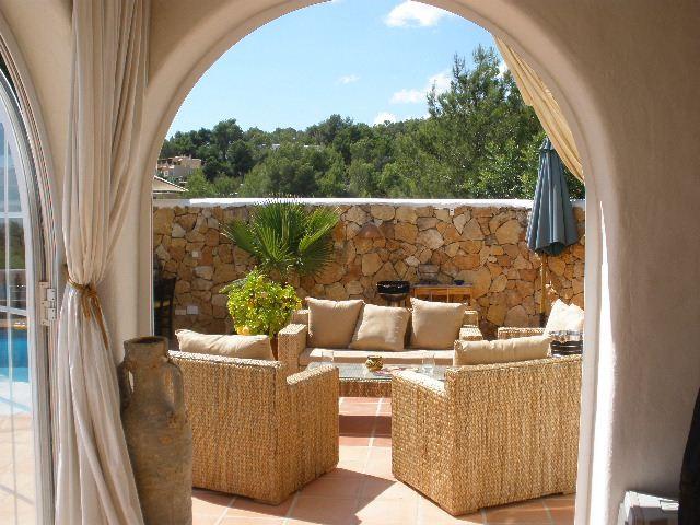 Mooie huis te koop Ibiza - gelegen op de heuvel van San Rafael