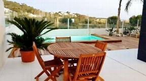 Modern appartement met privé zwembad in het hart van Talamanca te koop
