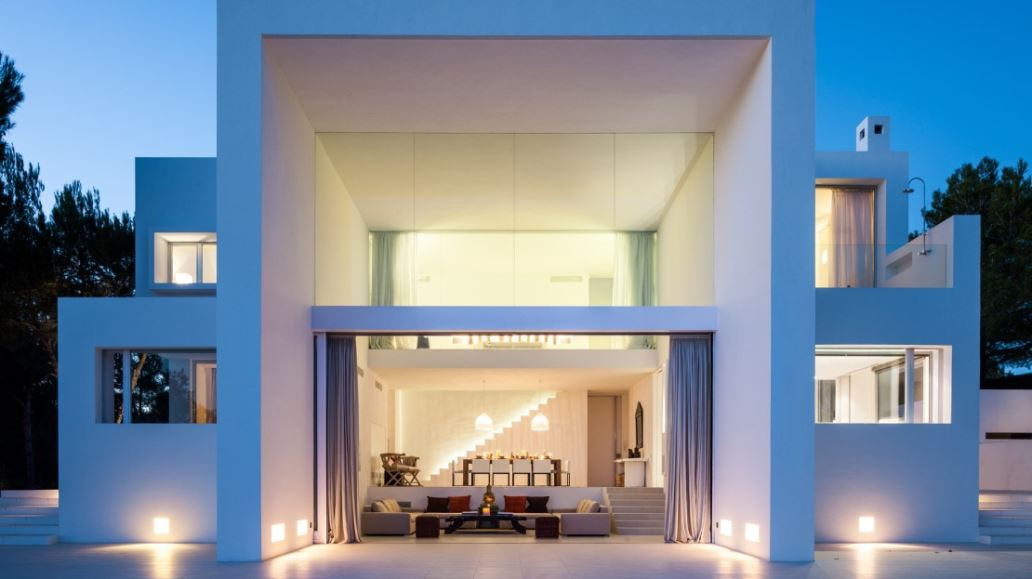 Moderne villa gelegen in Santa Gertrudis de Fruitera