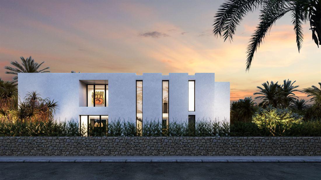 Grond te koop in Talamanca met een project voor een mooie moderne villa