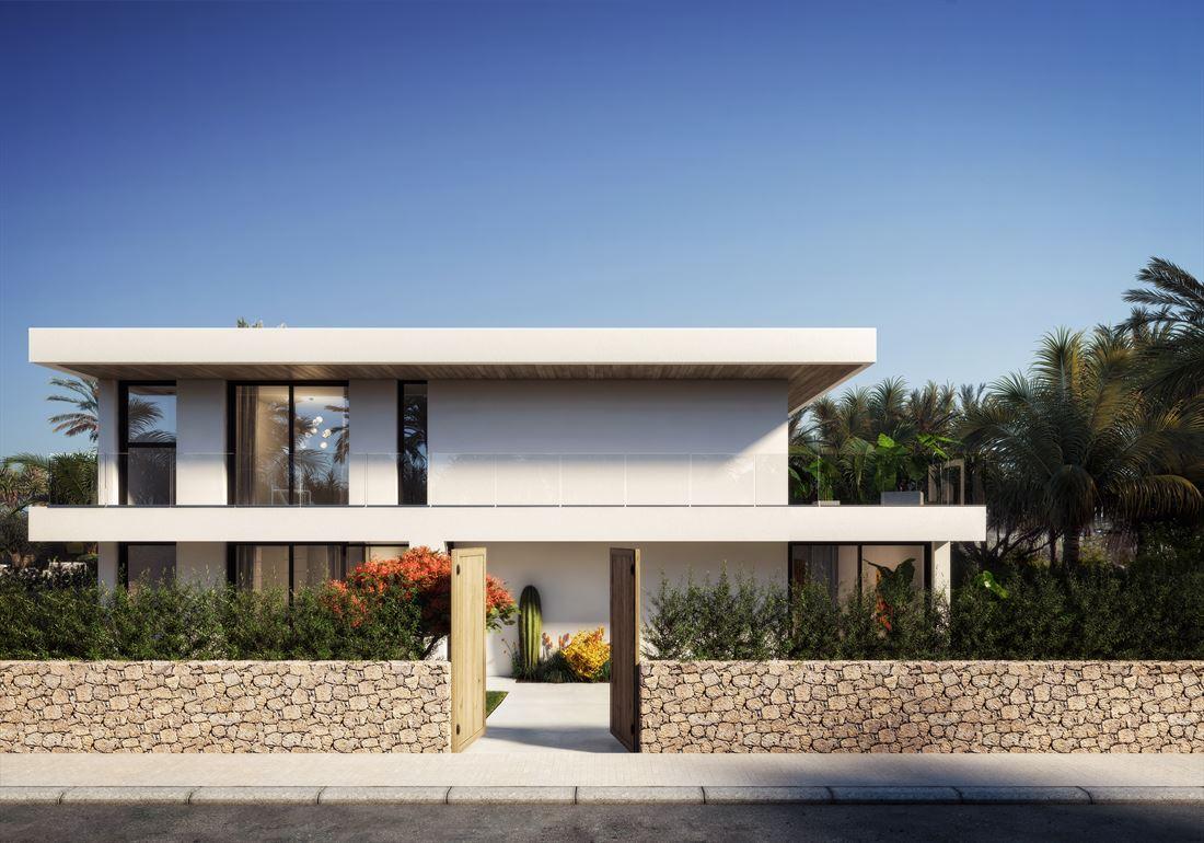 Gloednieuw luxe project te koop in Talamanca-Las Brise