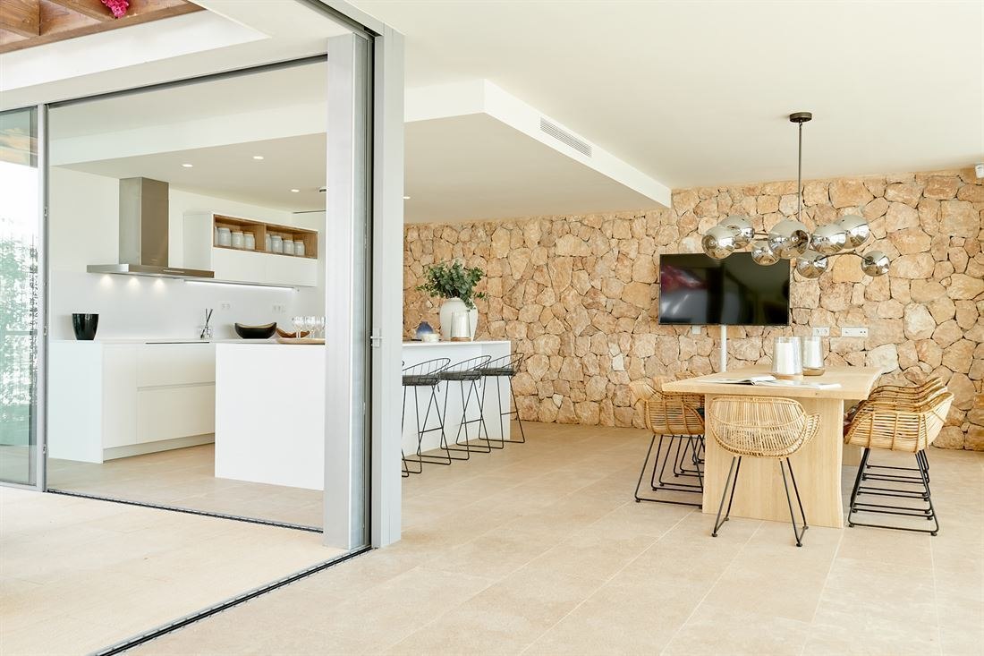 Luxe ontwikkeling inclusief 15 luxe huizen in Cala Comte
