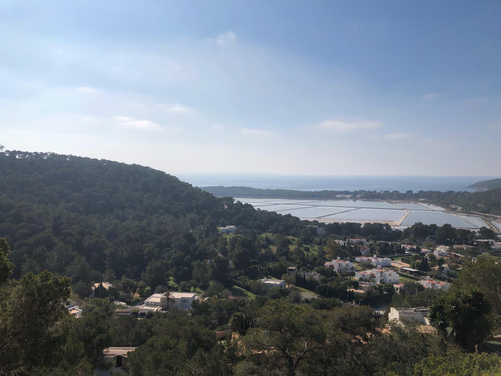 Land met vergunning in het natuurreservaat Las Salinas de Ibiza