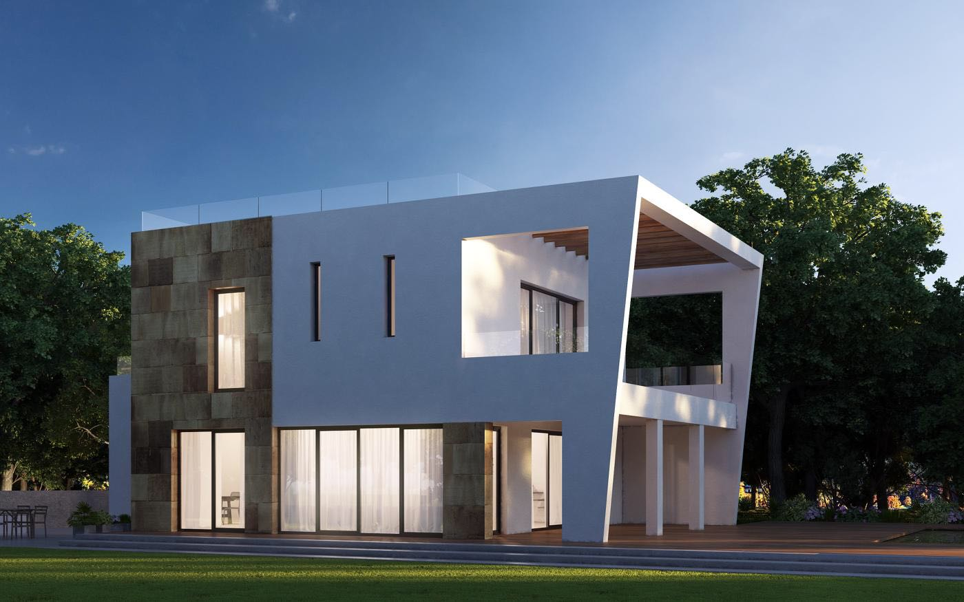 Prachtig huis van ongeveer 200 m2 met 2 slaapkamers en 2 badkamers in Porroig