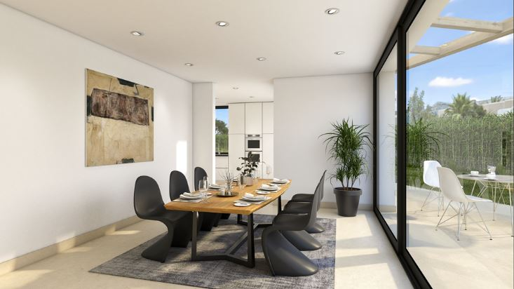 Off Plan huis van 305m2 in Jesus Ibiza te koop