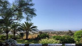 Charmante authentieke oude boerderij met prachtig uitzicht bij Ibiza