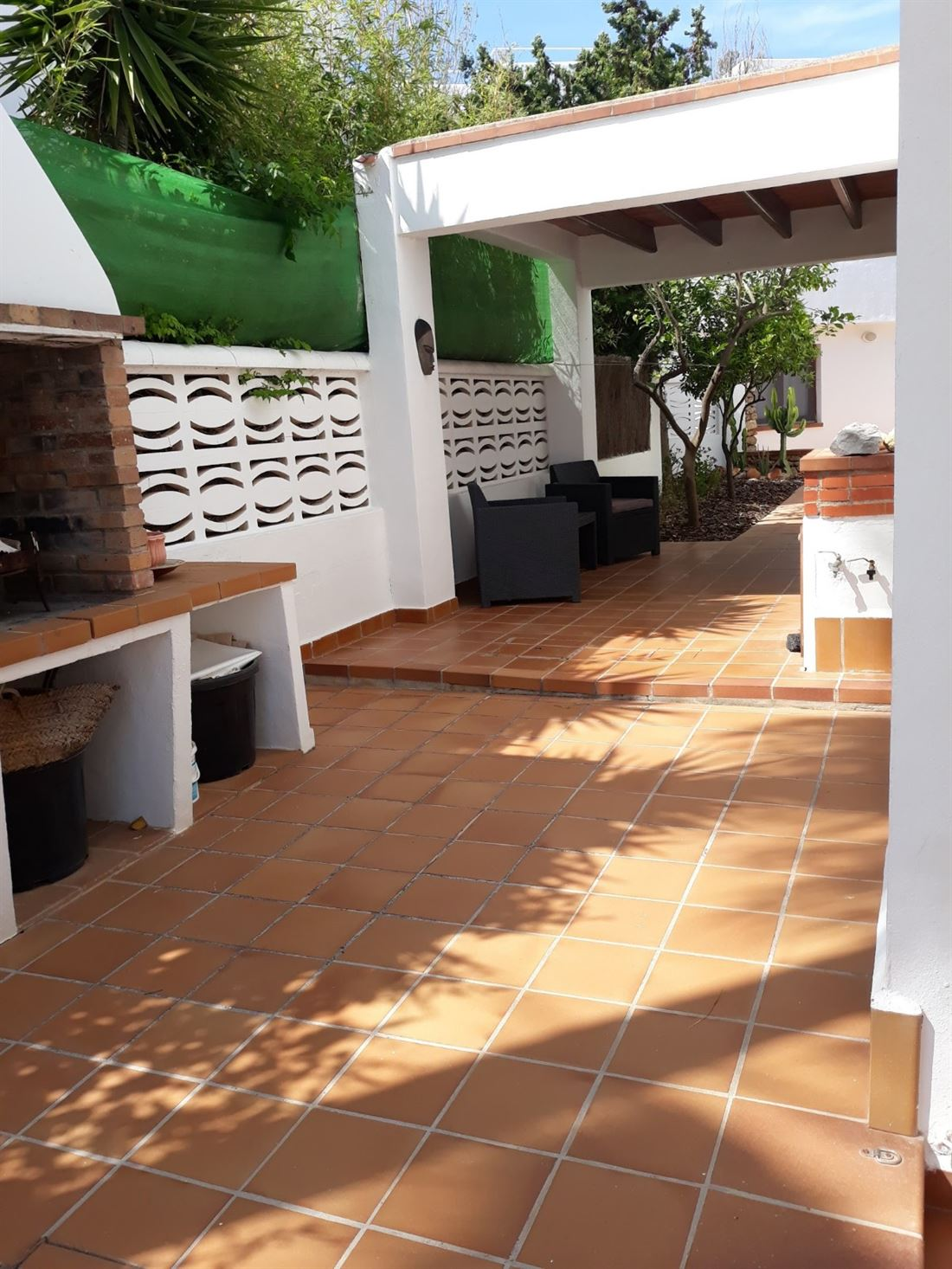 Huis met uitzicht op Formentera en Dalt Vila in Can Pep Simo