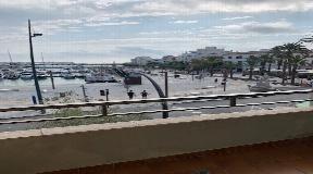 Appartement in het centrum van Ibiza met uitzicht op zee
