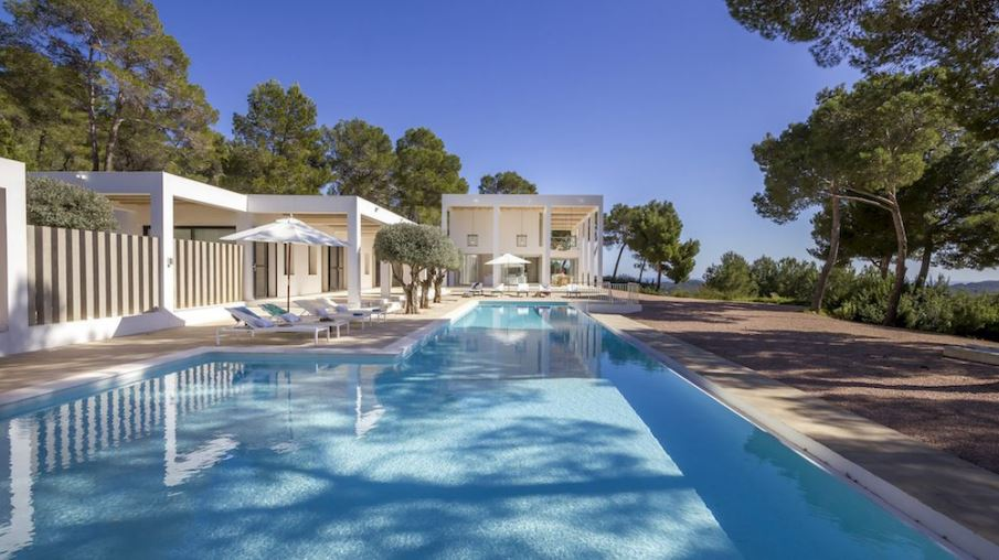 Luxe villa's met uitzicht op waar de oceaan de zon raakt
