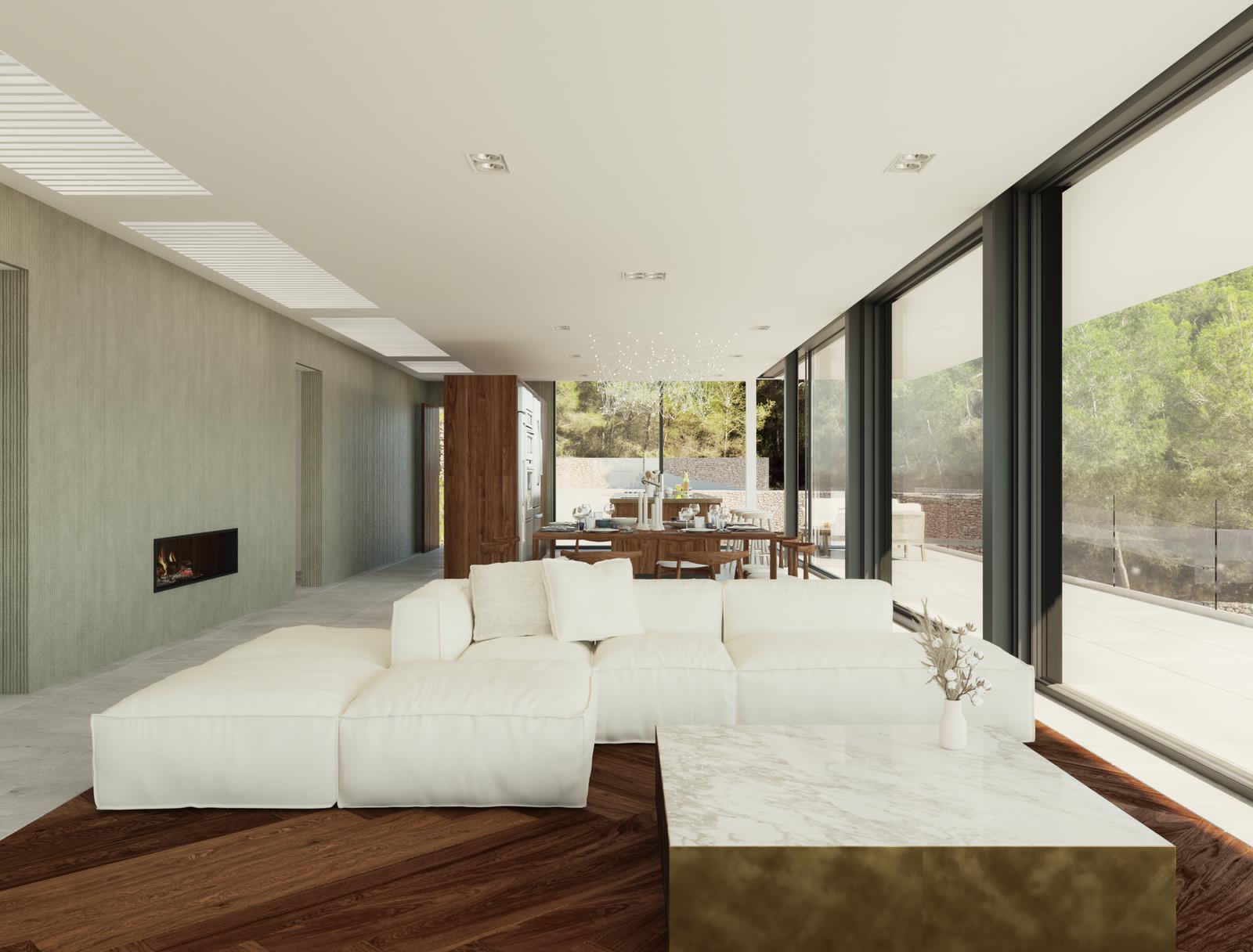 Geweldige plot met een fantastisch uitzicht advertentie met licentie om een villa te bouwen