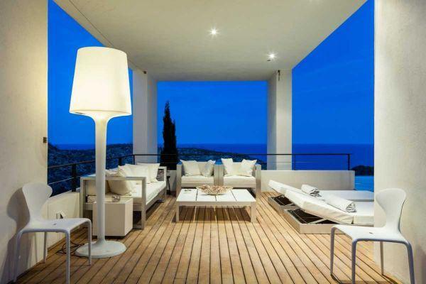 Luxe villa met vier slaapkamers in Roca Llisa Ibiza te koop