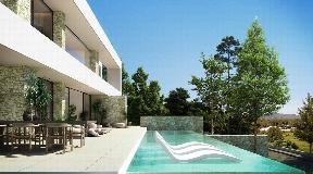 Innovatief wooncomplex met elegante en mediterrane villa's dichtbij de golfbaan