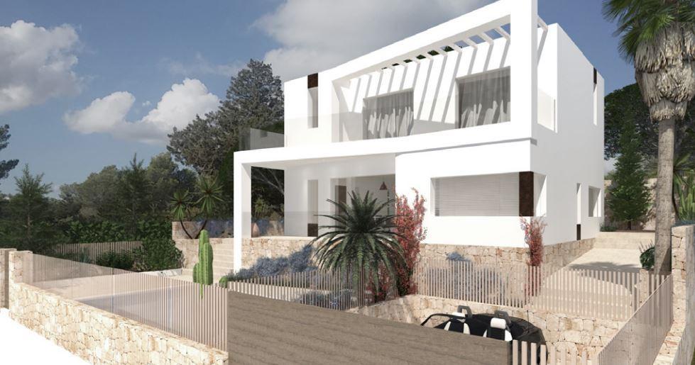 Eengezinswoning op stedelijk land inclusief hervormings- en uitbreidingsproject in Cap Martinet