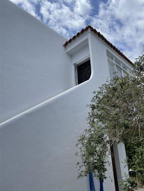 Klein huis te renoveren in Santa Eulalia met fantastisch uitzicht op zee