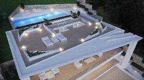 Luxe villa met fantastisch zeezicht in Cas Mut - Ibiza